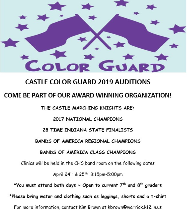 Guard Auditions